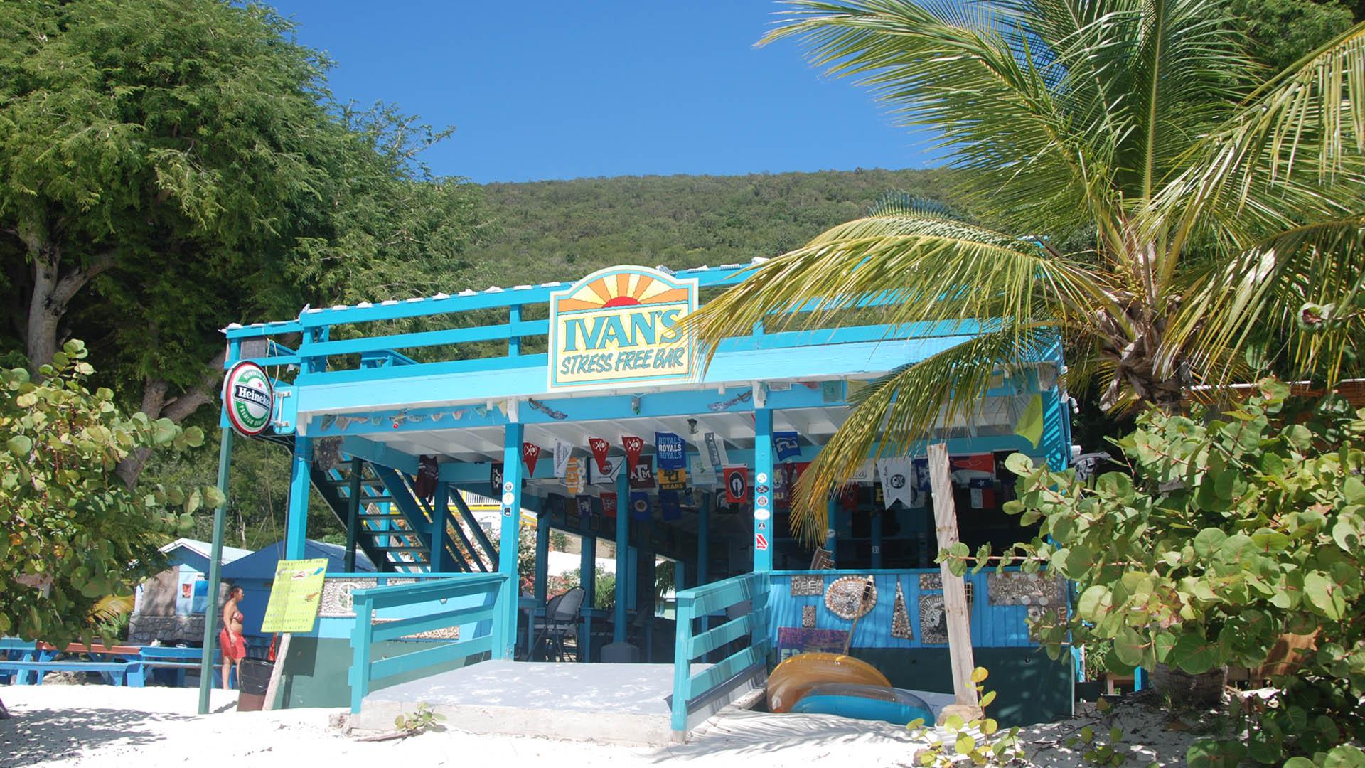 Ivan's Stress Free Bar, Jost Van Dyke, BVI