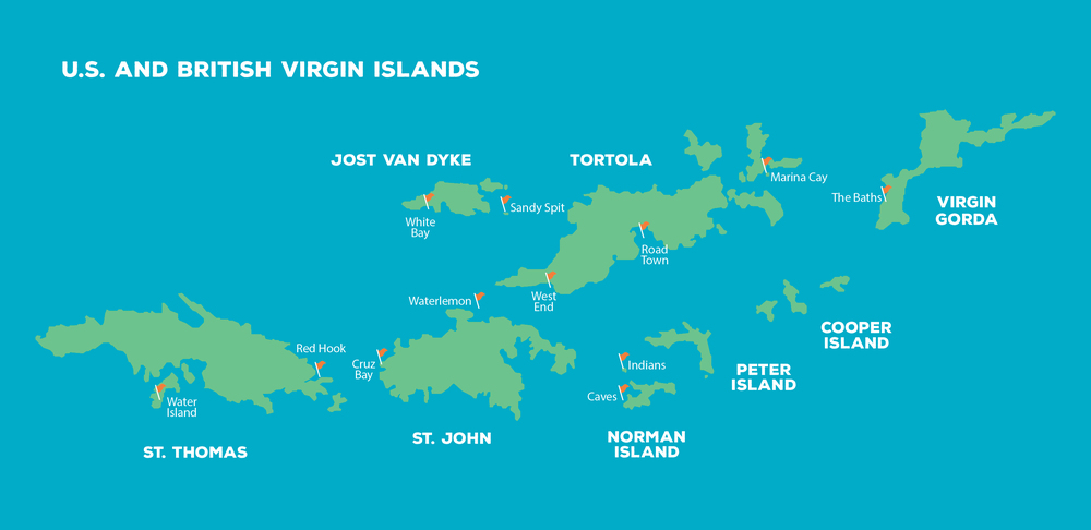 U.S. and British Virgin Island Charters — On the Sea Charters
