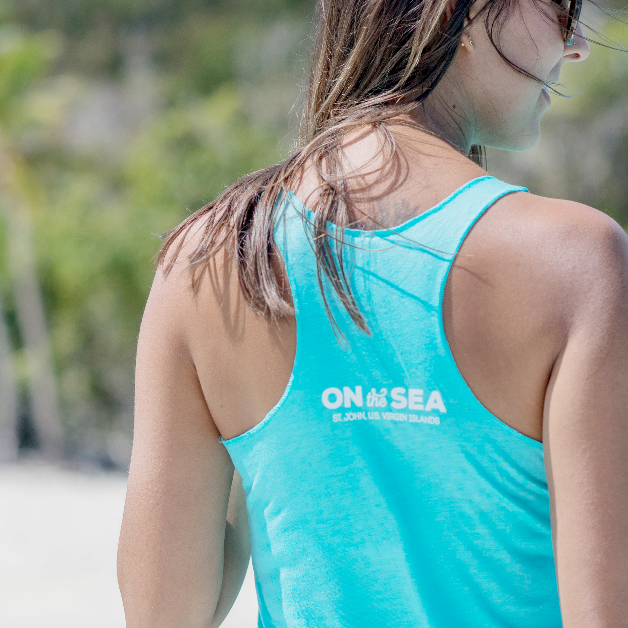 on-the-sea-charters-womens-racerback-logo-tank-sq-back.png
