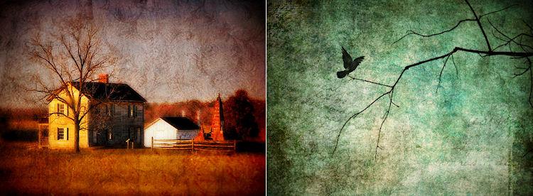 (L) 'Soul's Estate' (R)'Knowing' © Christy Hydeck