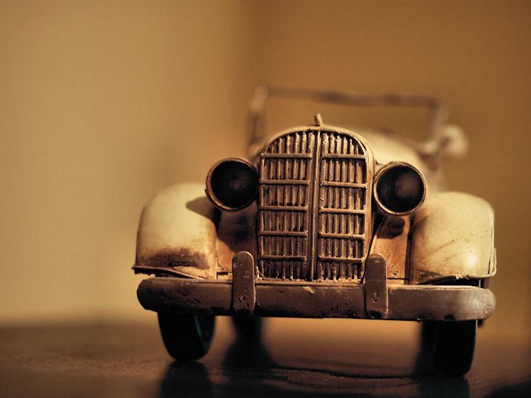 Vintage Car | Durham, North Carolina |© Christy Hydeck