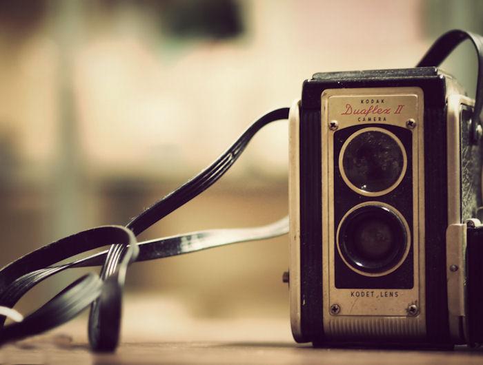 Vintage Kodak Duaflex II Camera | Raleigh, North Carolina |© Christy Hydeck