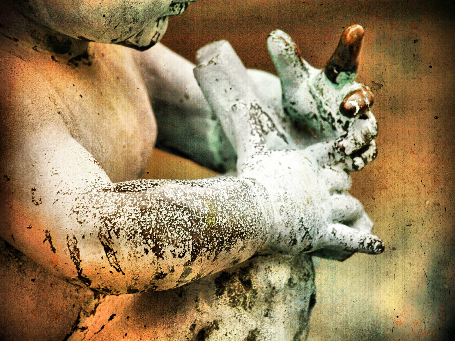 'These Hands' Artography | © Christy Hydeck | National Cathedral in Washington, DC