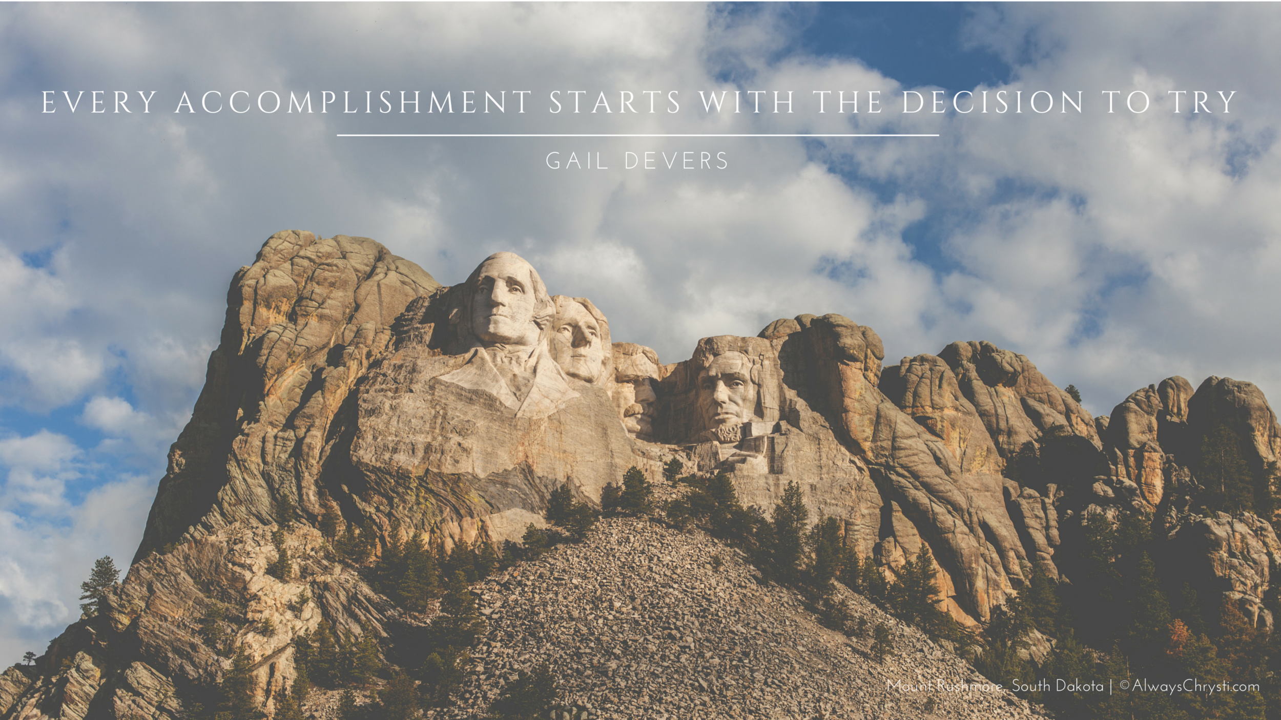 Click the photo to download your free high-resolution desktop wallpaper.   Mount Rushmore in the gorgeous Black Hills of South Dakota | © Christy Hydeck