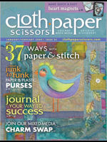 Cloth Paper Scissors, January/February 2009