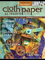 Cloth Paper Scissors, November/December 2007