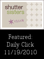 Shutter Sisters Daily Click Feature