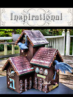 Altered Bird House by Chrysti