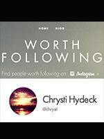 Worth Following on Instagram