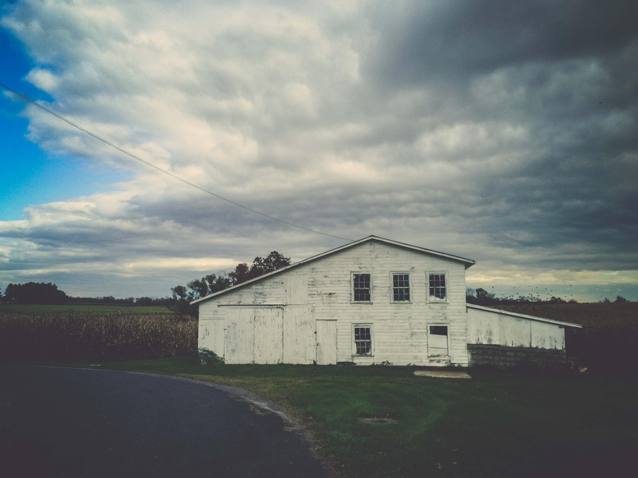 Bushey School Road | York Springs, PA | iPhone5 |© 2016 Christy Hydeck (Click image to view larger + in a new window)