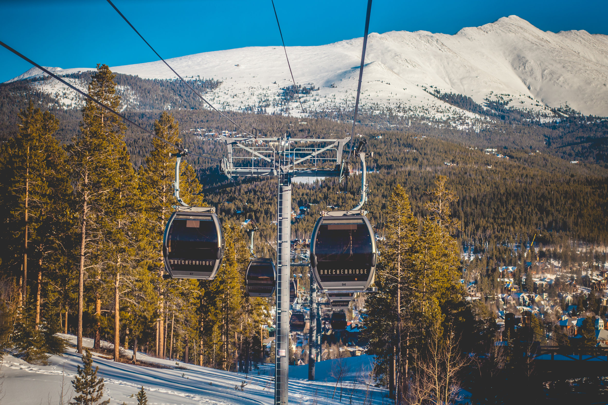 The Breck Connect Gondola | Breckenridge, Colorado | 2015 | © Christy Hydeck