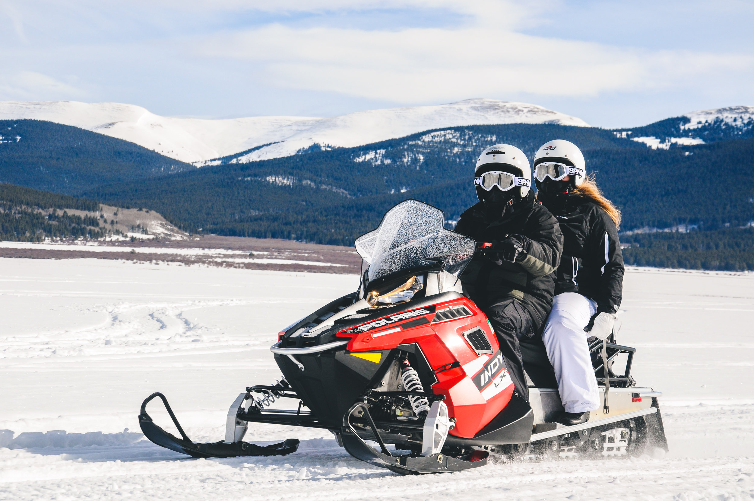 Snowmobiling on Copper Mountain | Leadville, Colorado | 2015 | © Christy Hydeck