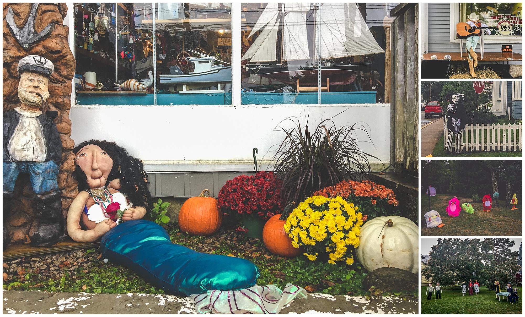 2016 Mahone Bay Scarecrow Festival // Nova Scotia, Canada //© Christy Hydeck