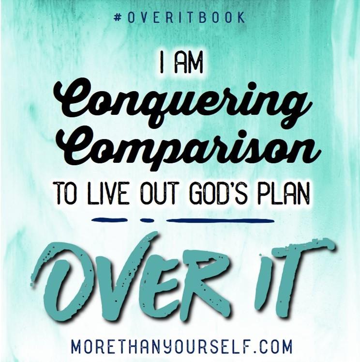 #OverItBook www.morethanyourself.com
