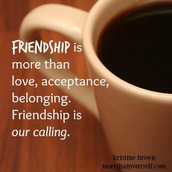 friendship part 1