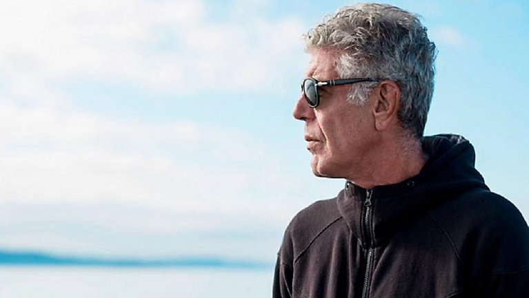 CNN: Travel host Anthony Bourdain dead at 61 by suicide . Photo courtesy of Bay News 9.