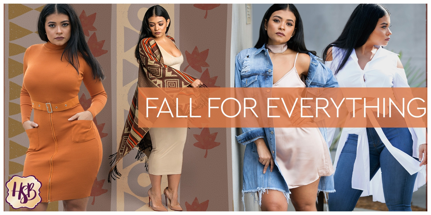Fall into our Intro to Fall Collection