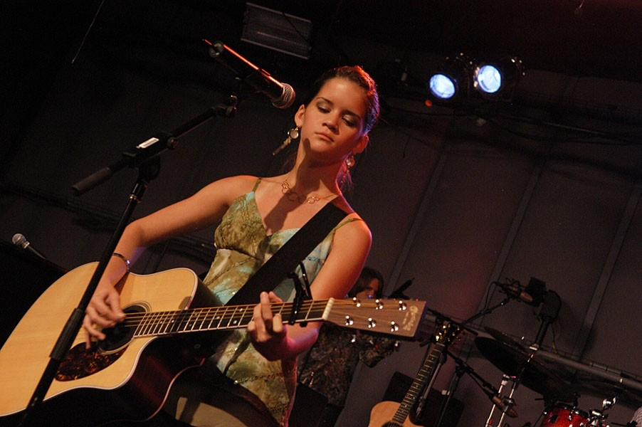 Maren Morris performs at the inaugural GRAMMY Camp Showcase Concert in Los Angeles.