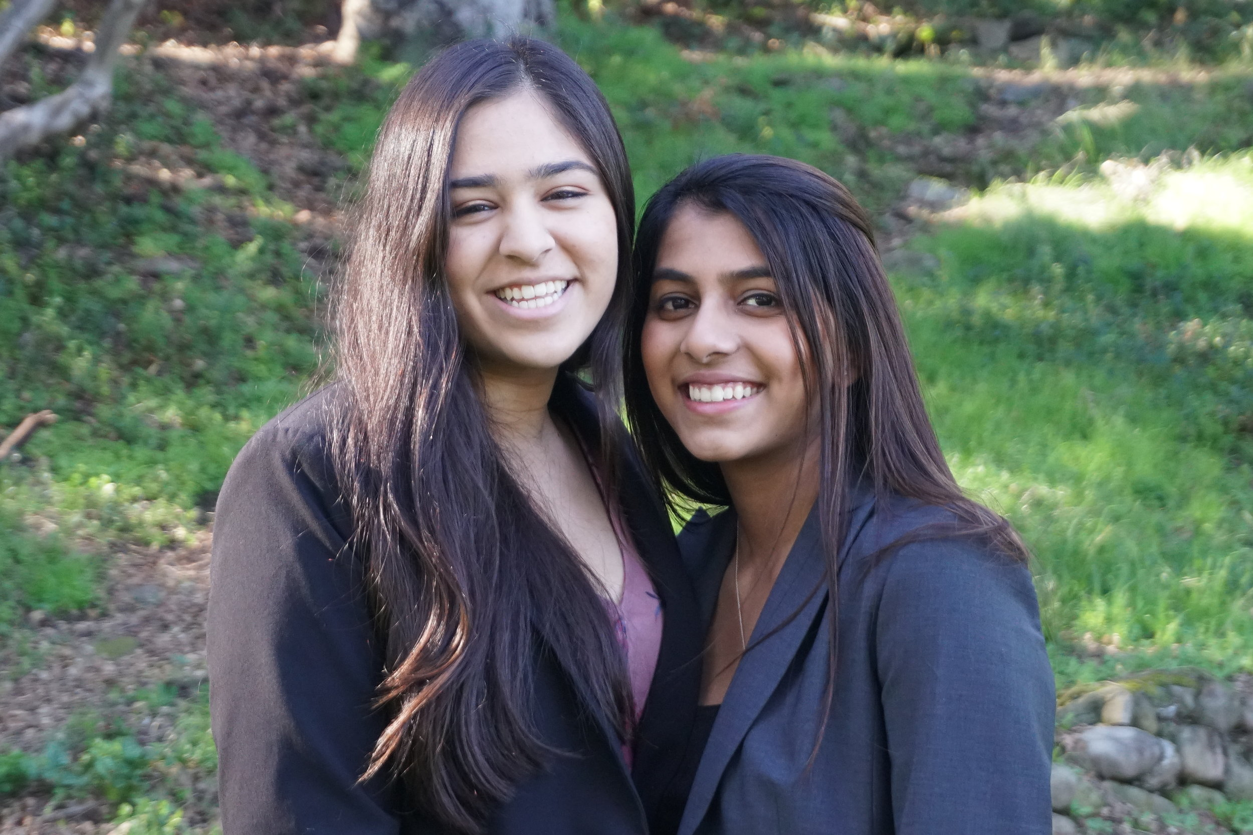 - Riya Gupta and Nishka AyyarThe Harker School - San Jose '19