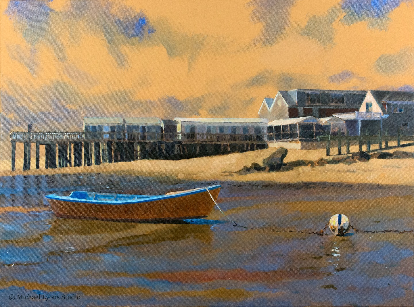 "Bayside Lowtide   18"" x 24"" oil on canvas"