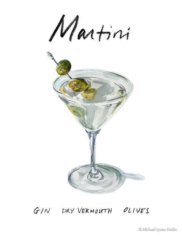 The proper method of making a martini and the amount of dry vermouth to use in one is a long debated subject.  Martinis are maybe the most personal of cocktails because there are few ingredients but numerous ways to prepare one.  The most important thing in making a martini is that the final cocktail must be ice cold.  Any weak stirring or shaking will result in a martini that is not cold enough and this is unacceptable.   Martini my way:      Ice    2.5 oz London Dry Gin (I like Bombay Sapphire or Plymouth)    Dry Vermouth    Olives or lemon twist for garnish    Run a martini glass under the faucet and put it in your freezer a few hours or the day before you think you might need a very strong drink.      Pour a cap full of vermouth into your glass, swirl it around and dump it out - this will leave just a trace of vermouth in your glass.  Fill your shaker or mixing glass with ice, add the gin, stir or shake it until its ice cold (100 shakes to be sure).  Strain into your martini glass and garnish with olives or a lemon twist.