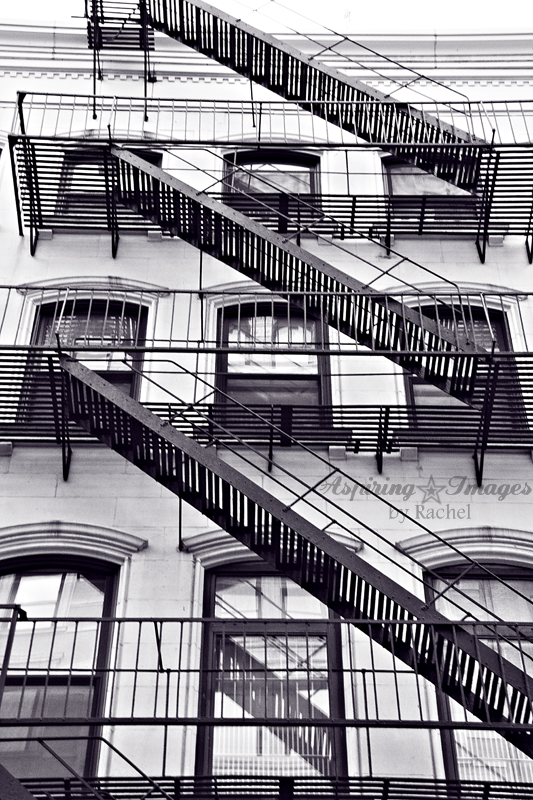 NYC-FireEscape-BnW