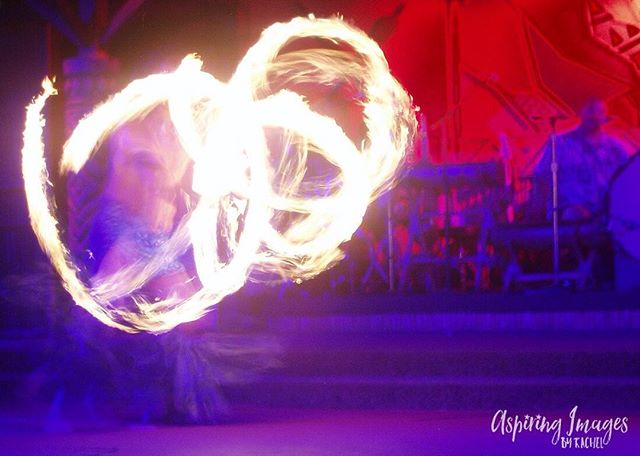 Throwback to an older photo of mine: Fire. Yass. Always a fantastic time at the luau in the Polynesian Resort at Disney World. Thank you for liking! Buy this print and more at my website, link in profile @aspiringimages