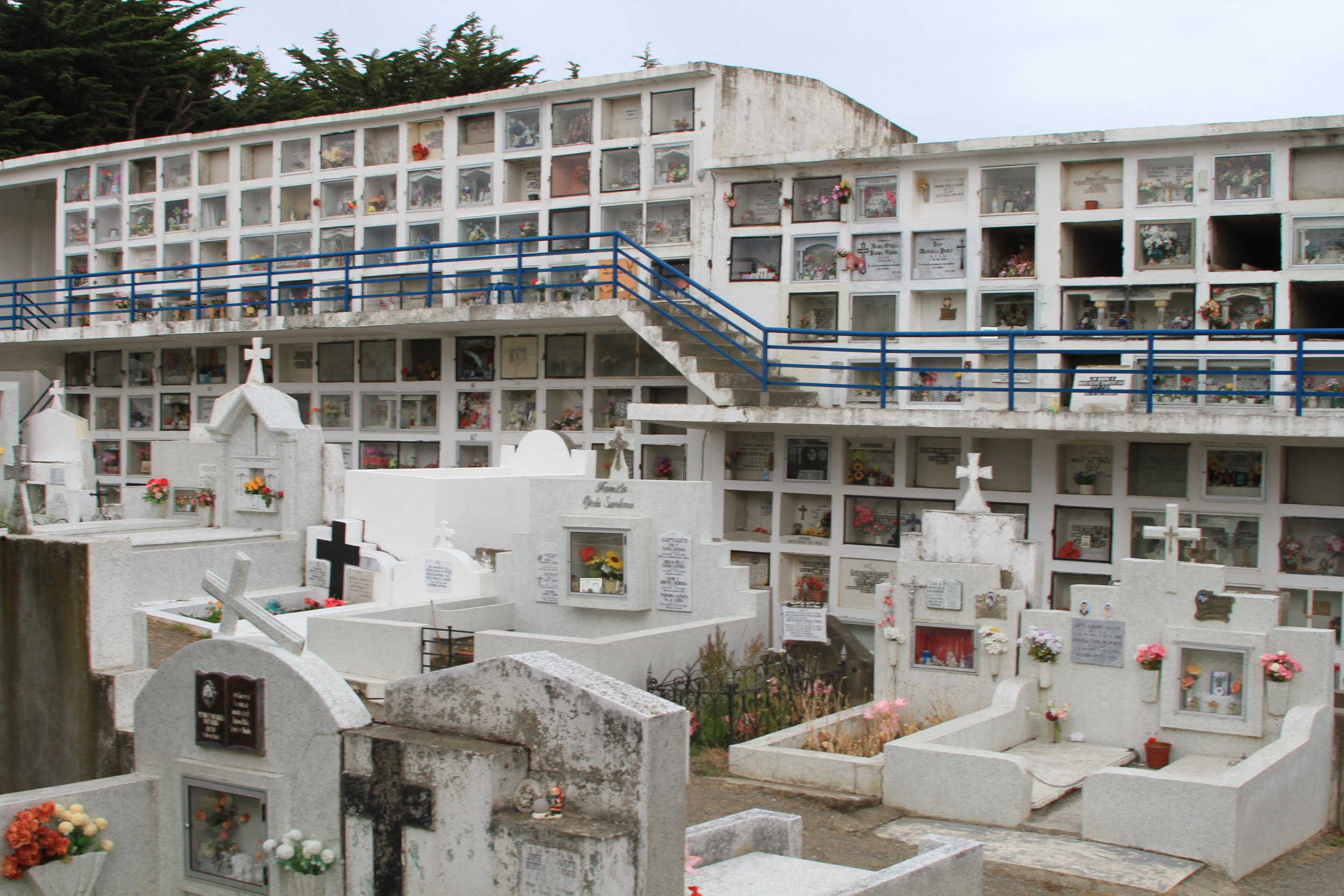 cemetario municipal of punta arenas, chile