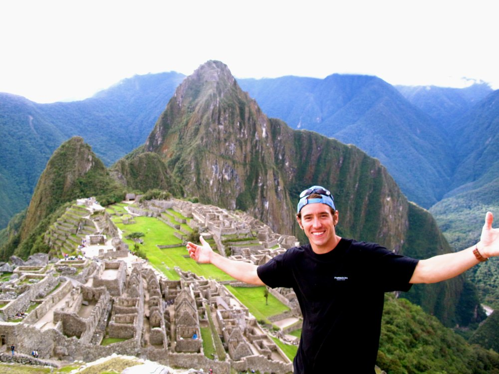One of the Founders of Paragon at Machu Picchu