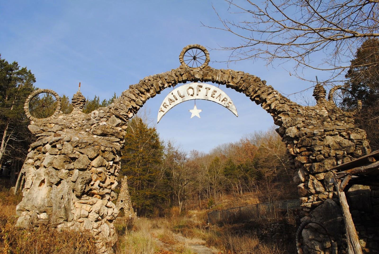 trail of tears historic trail