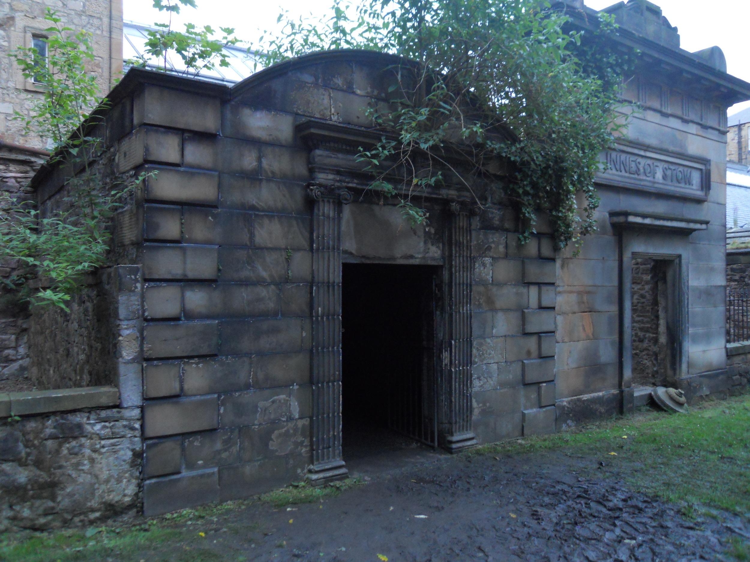 The mausoleum where you'll find the Mackenzie poltergeist!