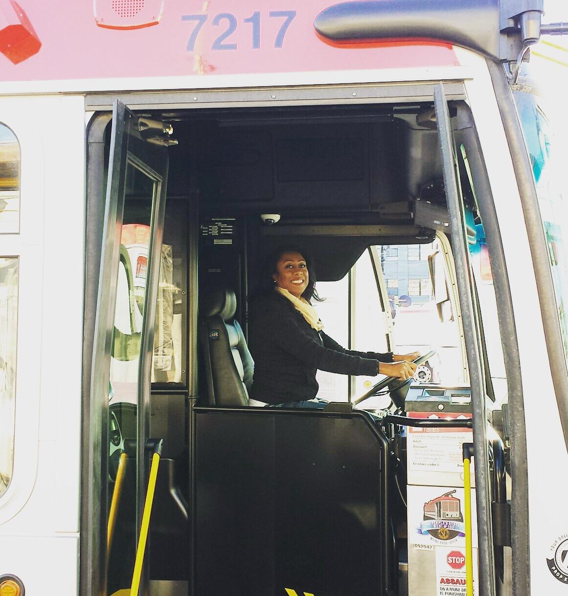 Jessica the Bus Driver!