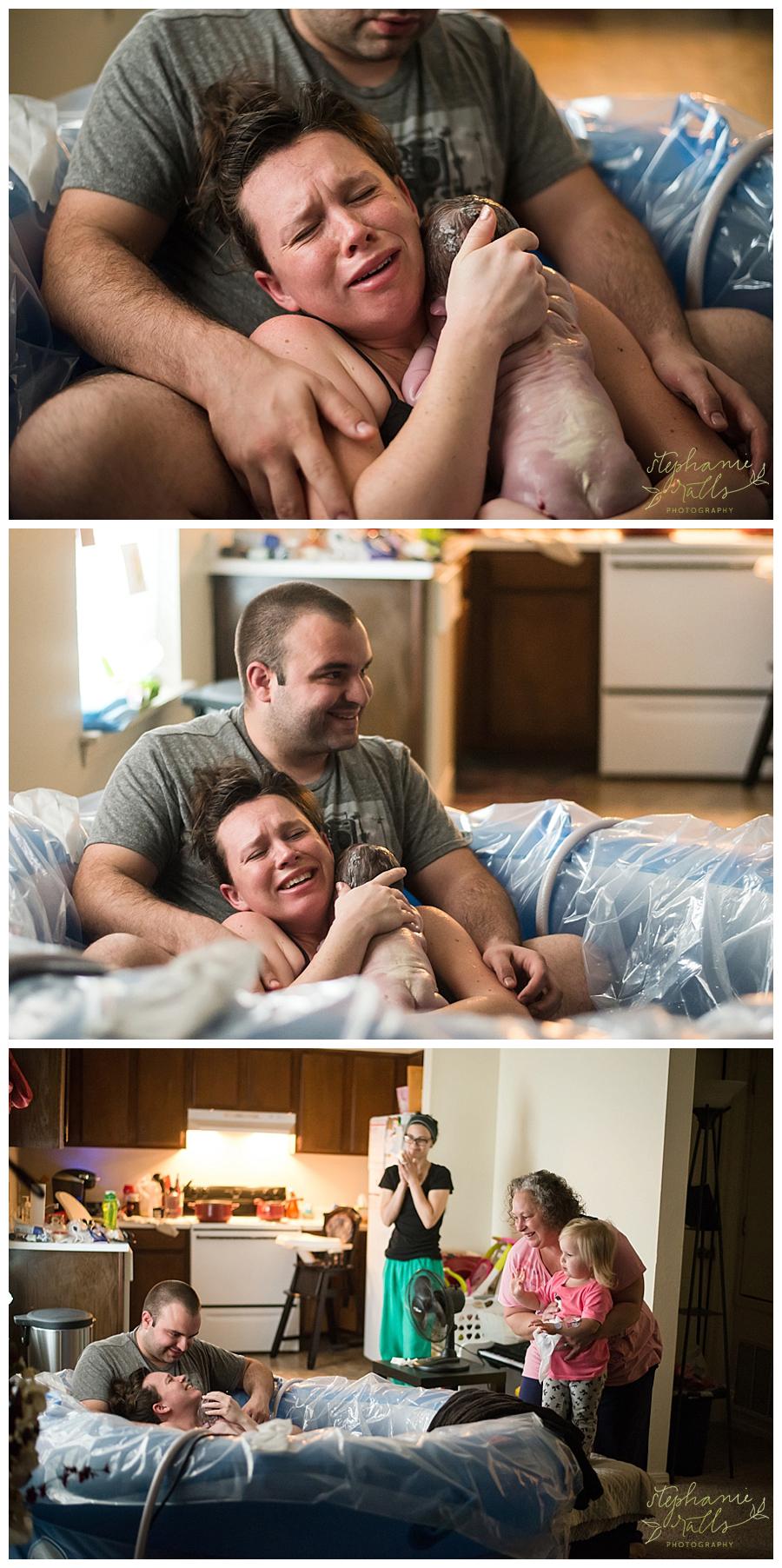 Oklahoma City Home Birth Photographer