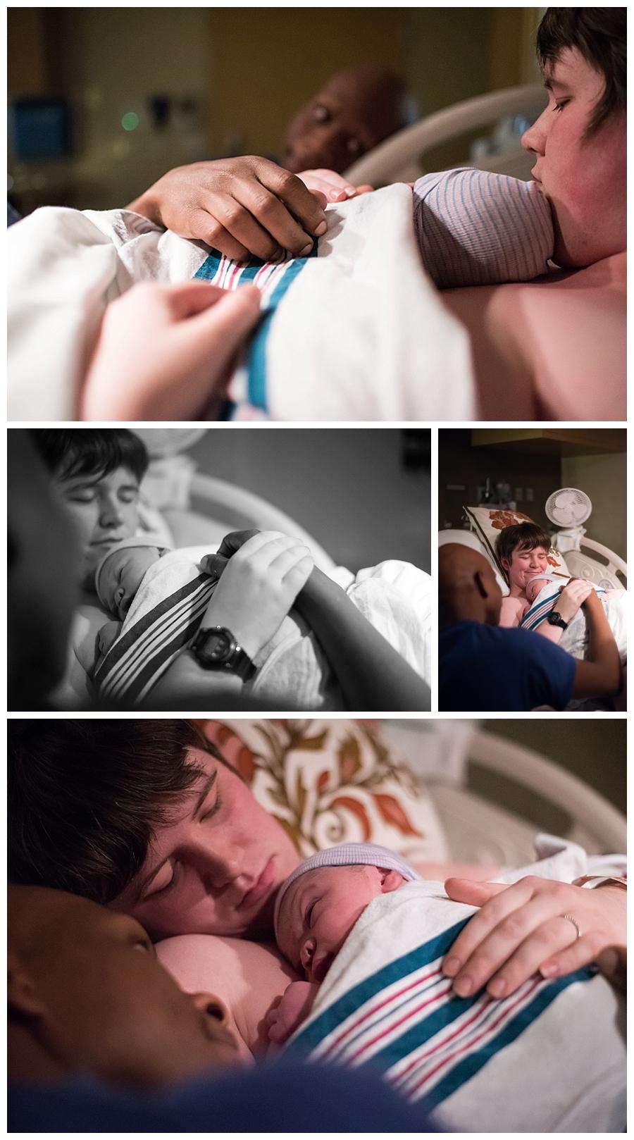 OKC birth photographer / OU Midwives