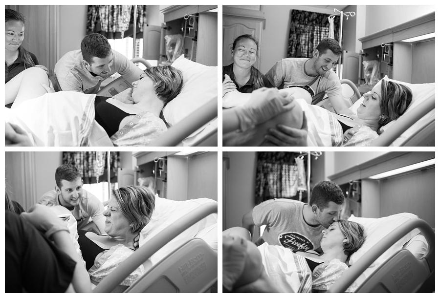 Oklahoma City Home and Hospital Birth Photographer