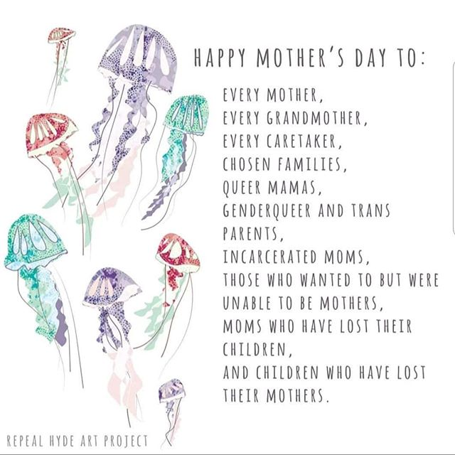 Happy Mother's Day to mothers in all seasons 💕💕💕