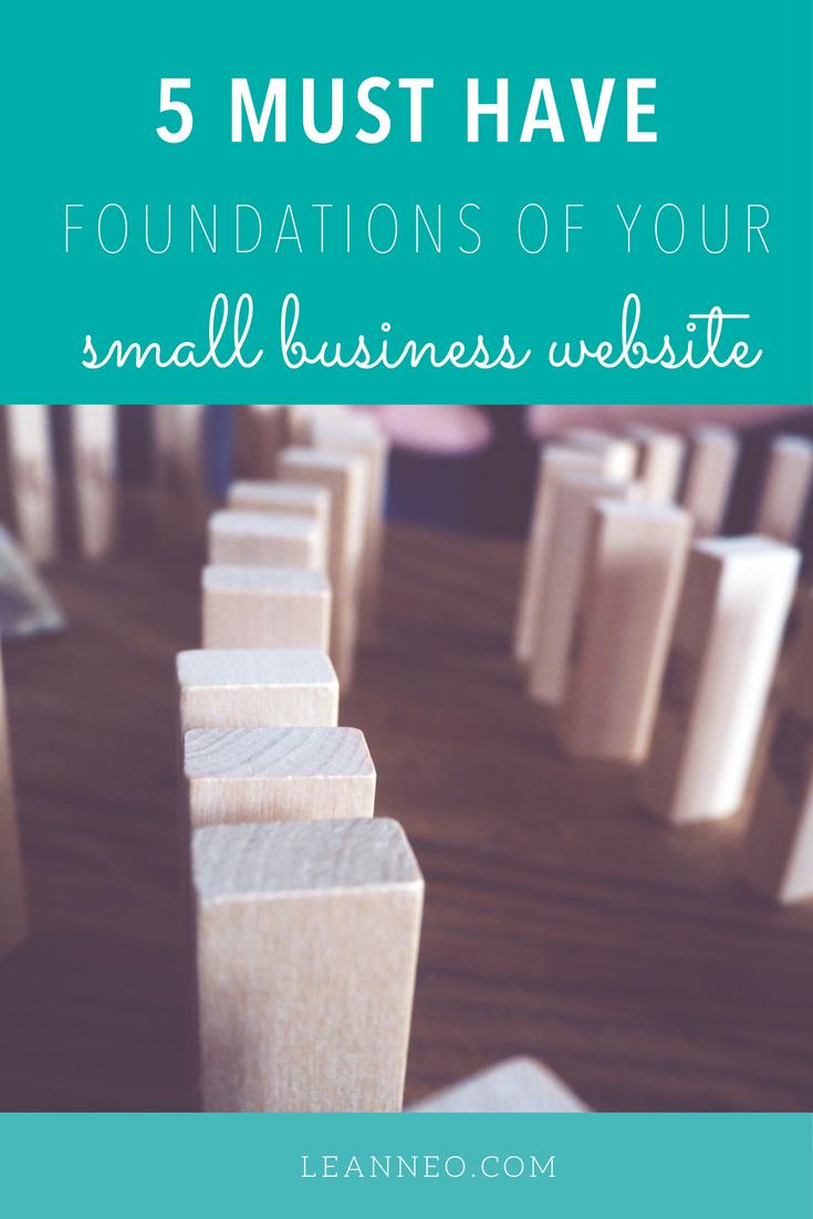5-essential-smallbusiness-website-foundations