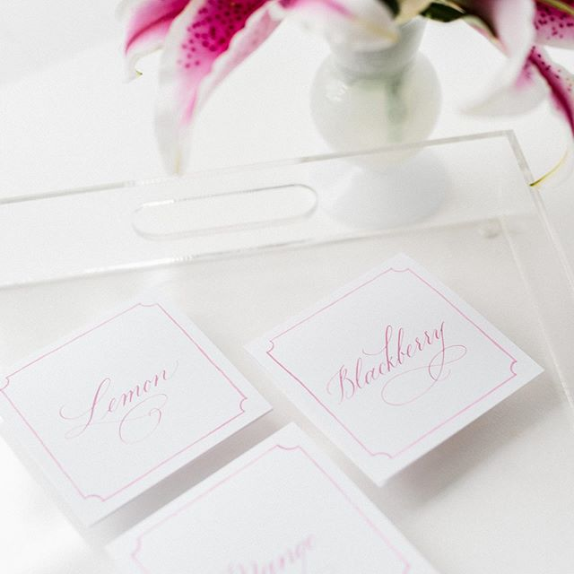 Happy first day of summer. I look forward to this day every year 😎. Photography | @reneehphoto  Planning & Design | @kaririderevents Calligraphy | @surceecalligraphy