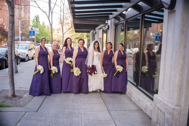 Downtown Seattle Wedding_Seattle Wedding Photographer_Urban Wedding_Movie Theater_5