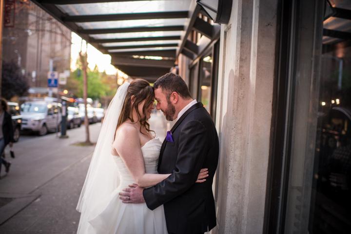 Downtown Seattle Wedding_Seattle Wedding Photographer_Urban Wedding_Movie Theater_15