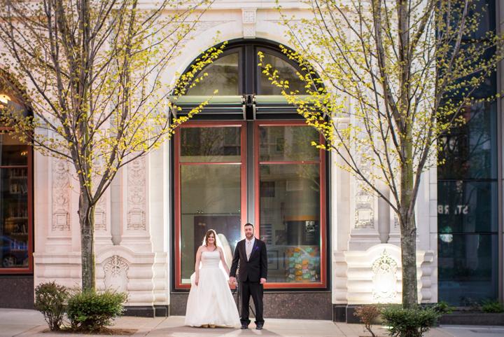 Downtown Seattle Wedding_Seattle Wedding Photographer_Urban Wedding_Movie Theater_16