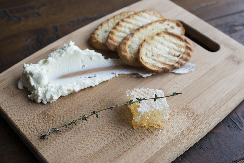 Goat Cheese & Honeycomb