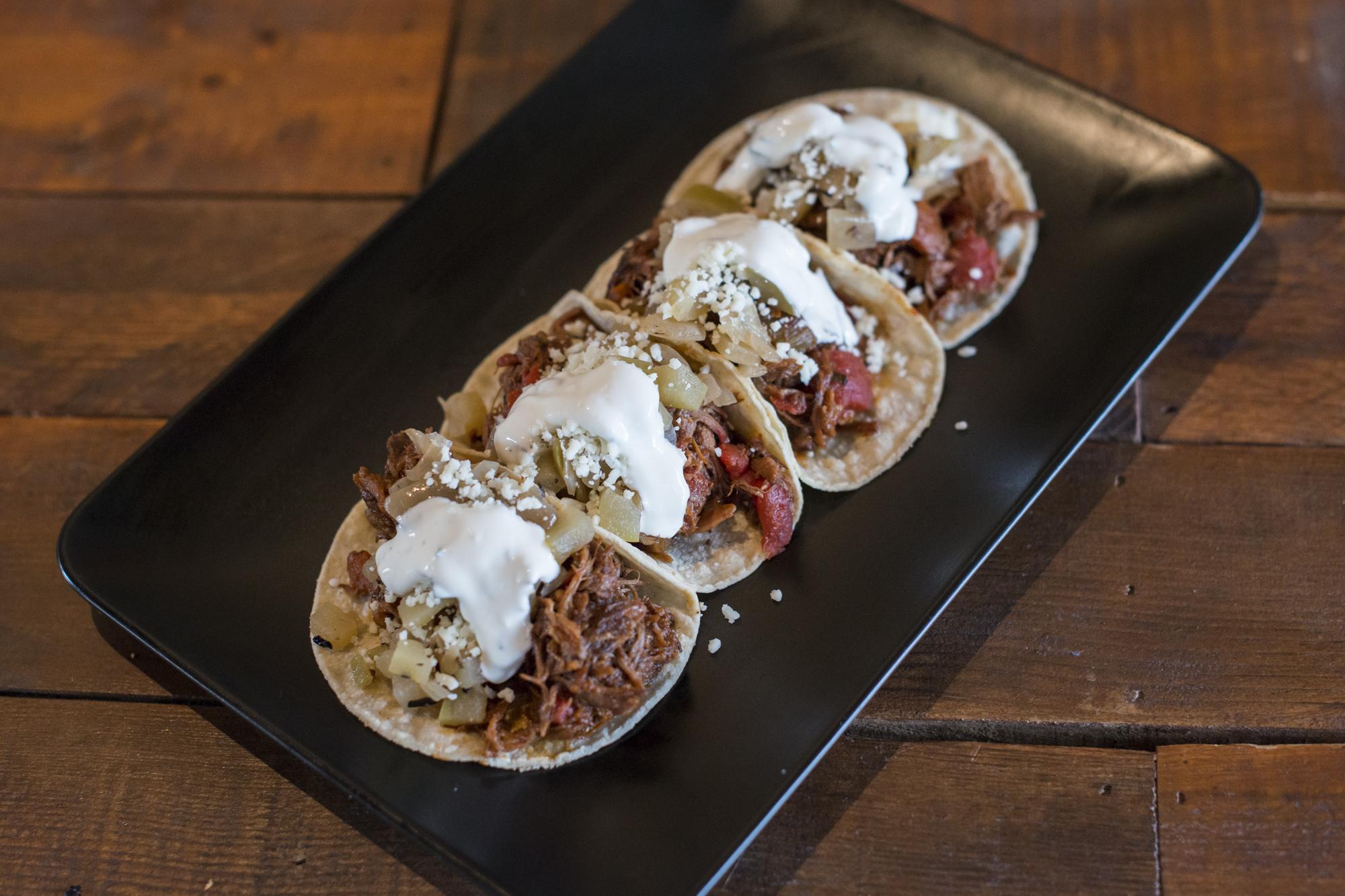 Free Range Boar Tacos