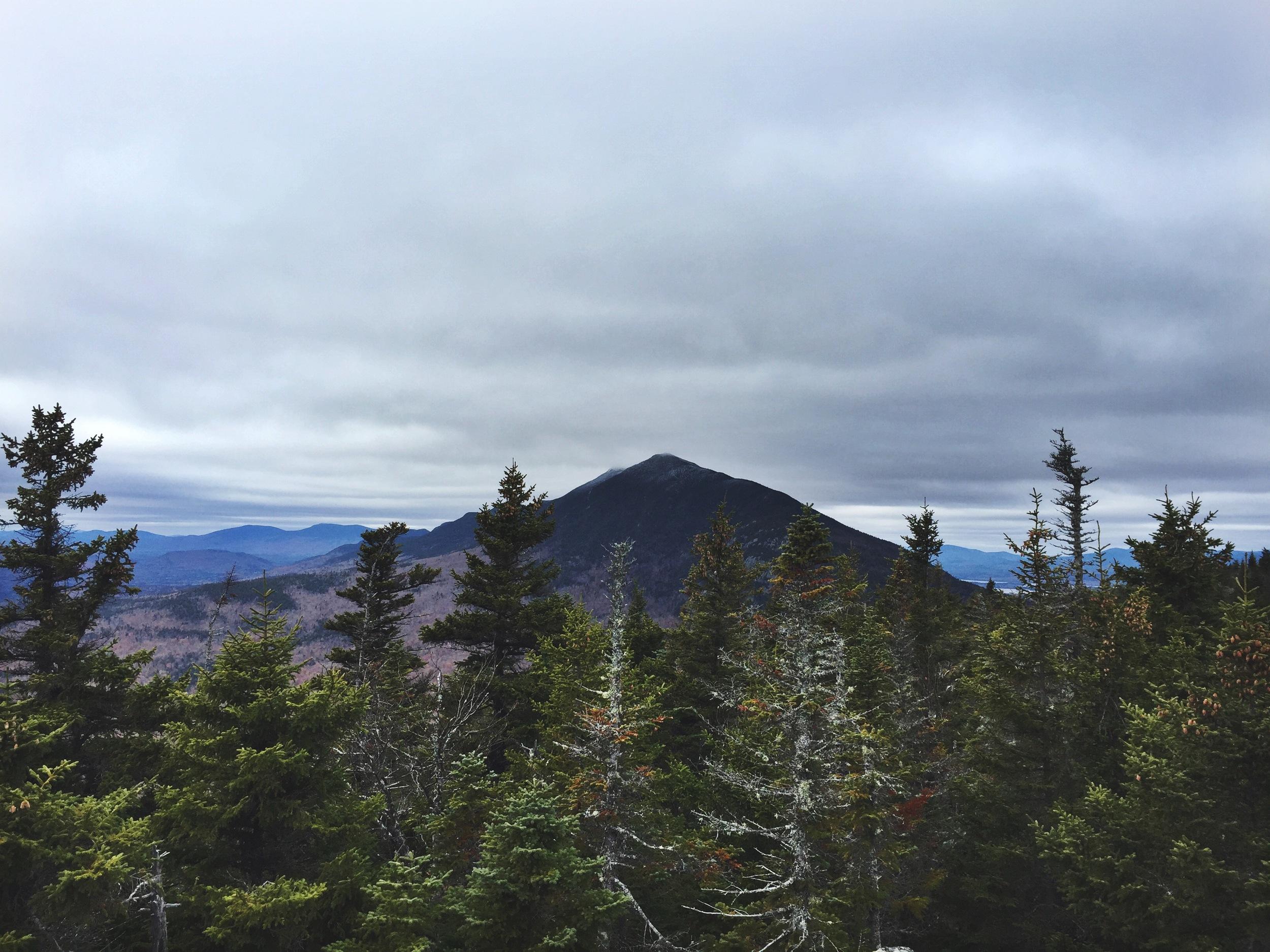 Views of the Bigelow Range from Little Bigelow Mountain.