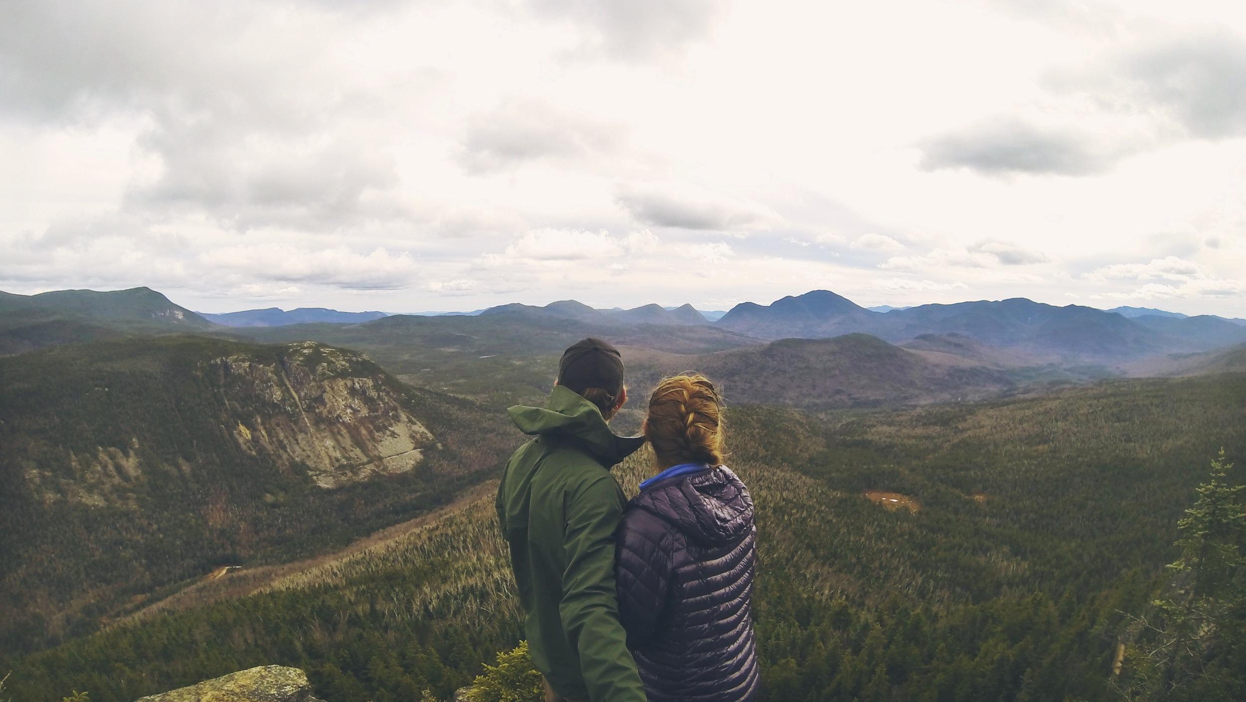 Unbelievable views from Zealand Ridge's Z Cliffs.
