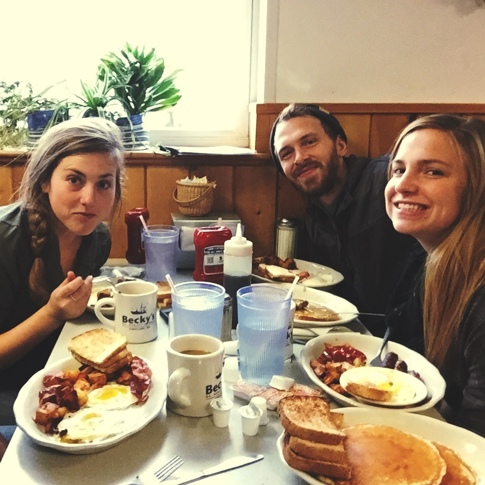 Becky's Diner, a classic and famous diner in Portland