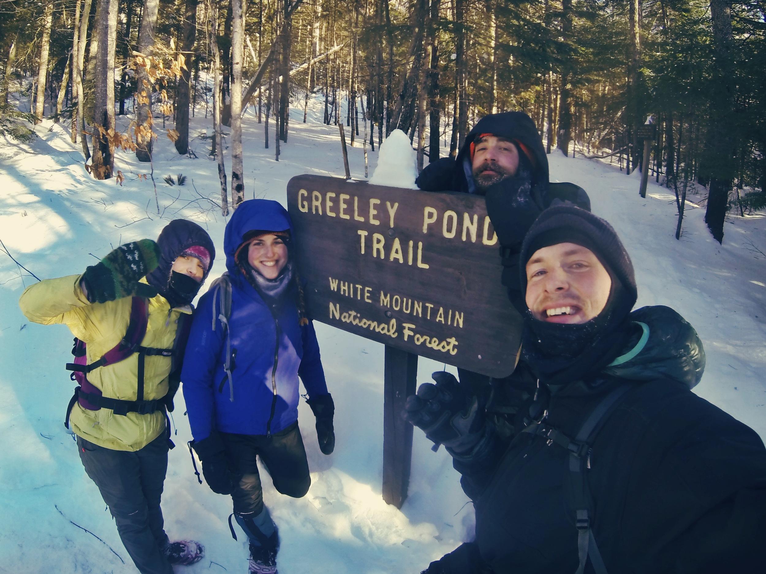 A successful and fun winter hike!