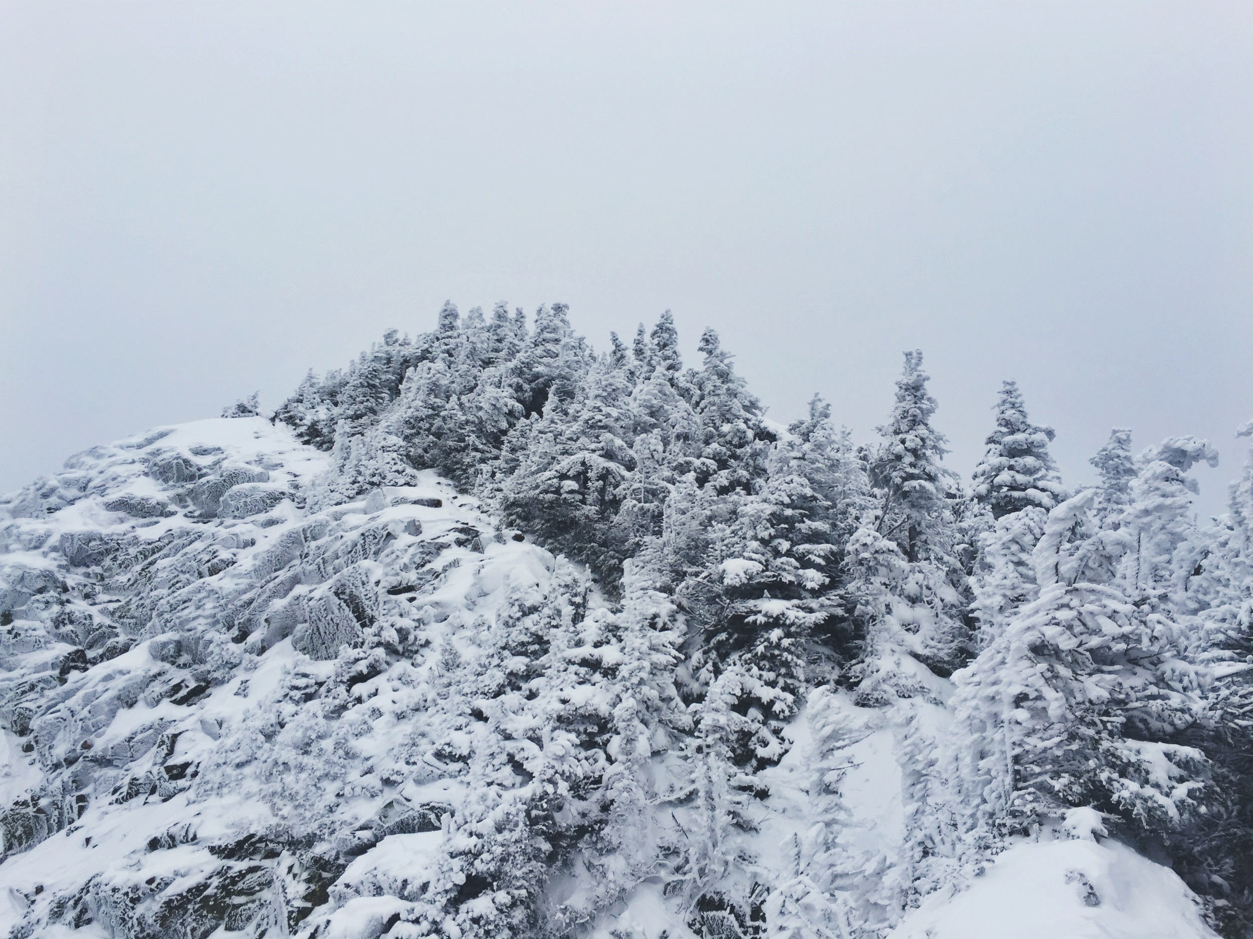 The winter landscape is demanding and beautiful.