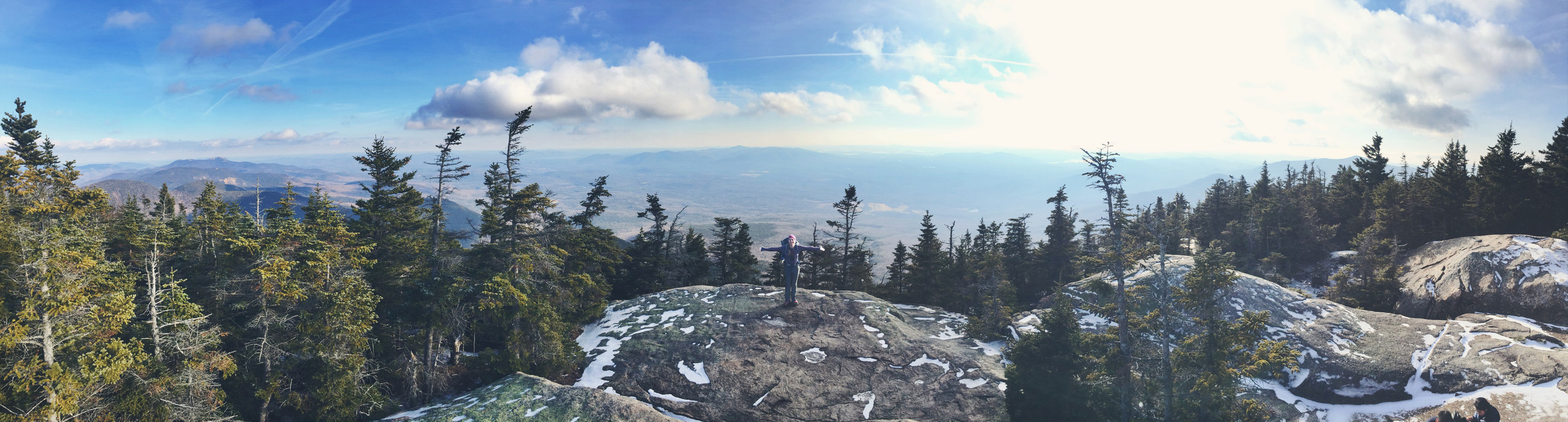 Wide open spaces on Mt. Whiteface
