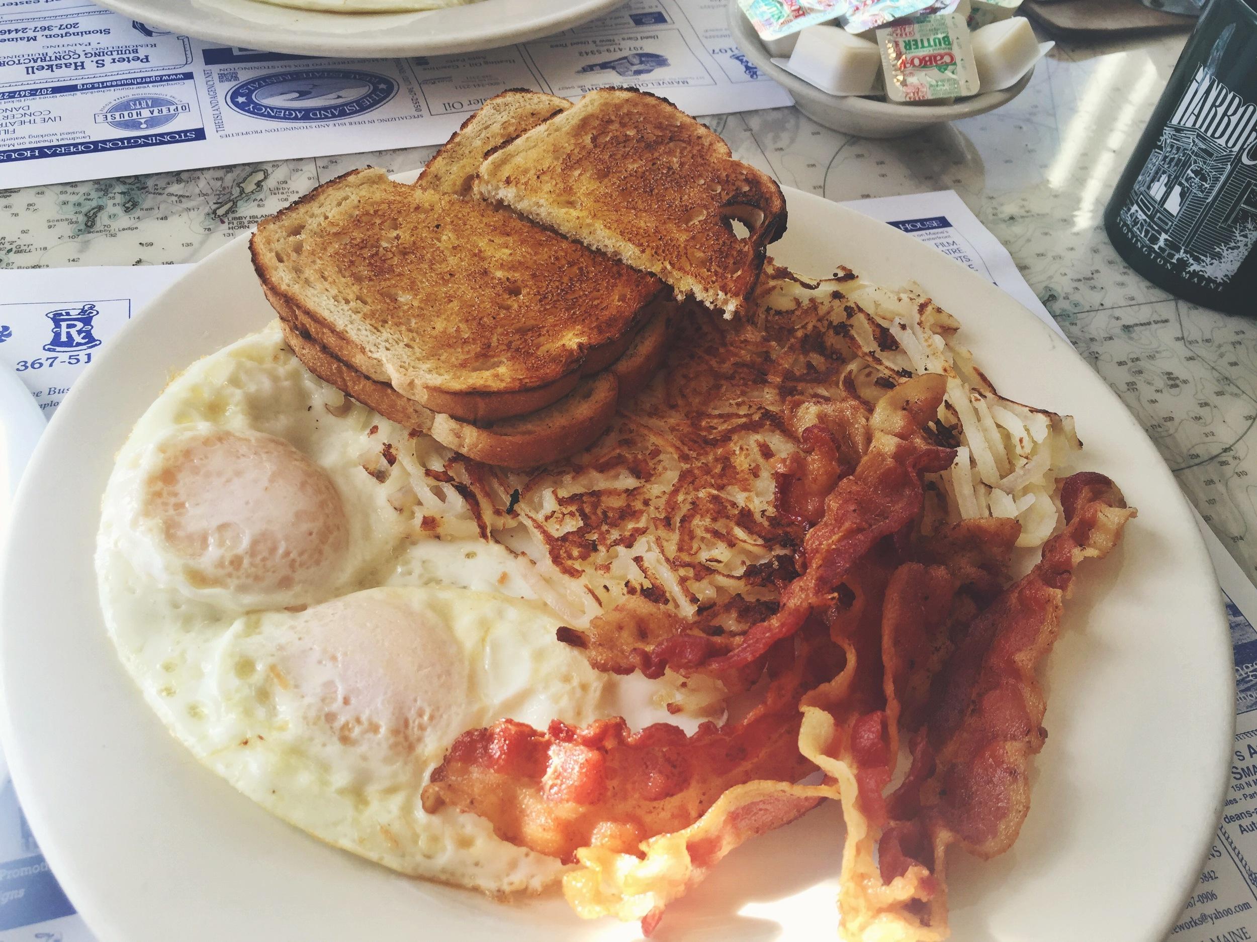Every adventurer needs a hearty breakfast!